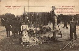 LA FOIRE DE LESSAY LA MARCHANDE DE LICOUS - Frankreich