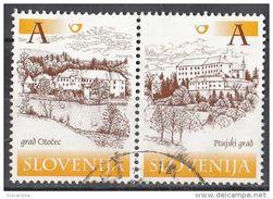 404 Slovenia 2000 - Castles Castelli : Otocec E Ptuj Slovenija - Slovenia