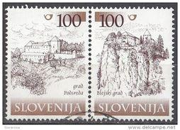 412 Slovenia 2000 - Castles Castelli : Podsreda E Bled  Slovenija - Slovenia