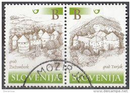 406 Slovenia 2000 - Castles Castelli : Zuzemberk E Turjak  Slovenija - Slovenia