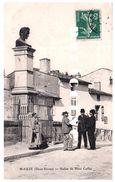 79 Mauze  Statue De René Caillet - Mauze Sur Le Mignon