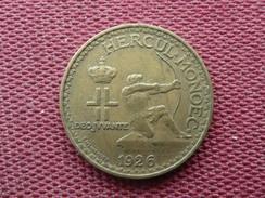 MONACO Monnaie De 1 Fr 1926 - Monaco