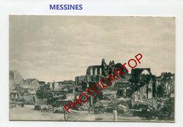 MESSINES-Mesen-CARTE Imprimee Allemande-Guerre 14-18-1 WK-BELGIEN-Flandern - Mesen