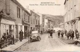 81 BOISSERON Grande Rue - Route De Castres à Brassac - Commerces - Tacot - Animation - Francia
