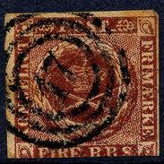 Stamp  Denmark 1851 Used Lot2 - 1851-63 (Frederik VII)