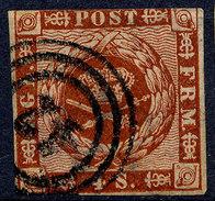 Stamp  Denmark 1854-63? Used Lot3 - 1851-63 (Frederik VII)