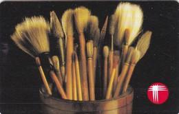 Hong Kong, R7-02, Tools (7th Series): Brushes, 2 Scans.    SN Wide Dark Print - Hong Kong