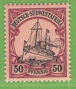 MiNr. 18 Xx  Deutschland Deutsche Kolonie Deutsch-Südwestafrika - Kolonie: Deutsch-Südwestafrika
