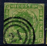 Stamp  Denmark 1854-58? 8s Used - 1851-63 (Frederik VII)