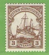 MiNr. 24 Xx  Deutschland Deutsche Kolonie Deutsch-Südwestafrika - Kolonie: Deutsch-Südwestafrika