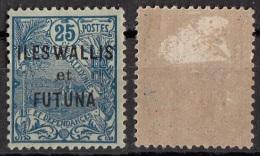 Wallis E Futuna Sc. 11 Stamps Nuova Caledonia Overprint. Viaggiato Used - Wallis And Futuna