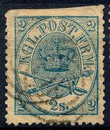 Stamp  Denmark 1864 2s Used - Oblitérés