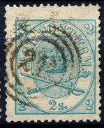 Stamp  Denmark 1864 2s Used - 1851-63 (Frederik VII)