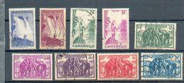 CAM 401 - YT 171-175-177-178 - 185-187-188 - 190 - 191 ° Obli - Kamerun (1915-1959)