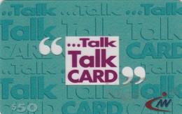 Hong Kong, HK-PRE-TLK-0018?, Transparent Talk Talk Card (Green), 2 Scans.  Expiry 31/08/99 - Hong Kong