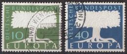 Germania 1957 Unione Europea - Viaggiato Used - Usati
