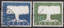 Germania 1957 Unione Europea - Viaggiato Used - Europa-CEPT