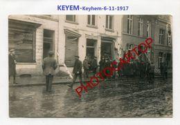 LICHTERVELDE Ou KEYEM-BOMBE Aerienne-6-11-17-CARTE PHOTO Allemande-Guerre 14-18-1 WK-BELGIEN-WESTFLANDERN - Lichtervelde