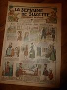 1917 La Manière De Donner ; Bécassine Chez Les Alliés ; La Guerre Des Enfants (Saynète) ; Etc    LSDS - La Semaine De Suzette