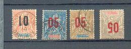 DAH 278 - YT 24 - 35 (*) - 37 - 39  ° Obli - Dahome (1899-1944)