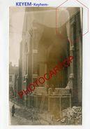 LICHTERVELDE Ou KEYEM-BOMBE Aerienne-CARTE PHOTO Allemande-Guerre 14-18-1 WK-BELGIEN-WESTFLANDERN - Lichtervelde