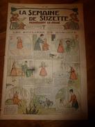 1917 Les Souliers De Monique;Bécassine Chez Les Alliés;Les Petites églises(Belge,Alsacienne,Lorraine,Picarde); Etc  LSDS - La Semaine De Suzette