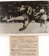 PHOTO AFP - MONTREAL - Titre Olympique Pour L'URSS Face à La ROUMANIE - Photo De YOURI  KIDJAEV - 29 Juillet 1976. - Handball