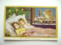 YEARS  30  DEGAMI   BUON NATALE  NOEL       BAMBINA  BAMBINO    POSTCARD USED    CONDITION PHOTO FORMATO PICCOLO - Weihnachten