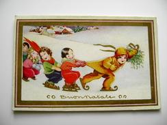 YEARS  30  DEGAMI   BUON NATALE  NOEL       BAMBINA  BAMBINO    POSTCARD USED    CONDITION PHOTO FORMATO PICCOLO - Christmas