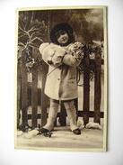 YEARS  30  BUON NATALE  NOEL       BAMBINA  BAMBINO    POSTCARD USED    CONDITION PHOTO FORMATO PICCOLO - Noël