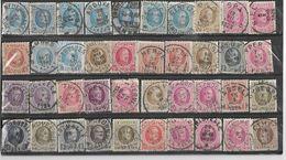 _6R-446:  Restje Van 40 Zegels .. Diverse: O.a.  Wat Stempels.... ..om Verder Uit Te Zoeken.. - 1922-1927 Houyoux