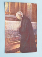 Prière - Gebed Broeder Mutien-Marie I/d Kapel Van Malonne ( Imp. Godart - Mons Tél 1429 ) ( Zie Foto's ) Format PK/CP ! - Godsdienst & Esoterisme