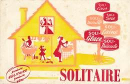 """AC - B2873-  Buvard  Produits D'entretien """"Solitaire""""  (non  Utilisé) - Blotters"""