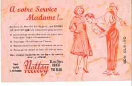 AC - B2879-  Buvard  Teinturerie Nettoy- Nogent  (  Non Utilisé En L'état )-Envoi Gratuit Pour La France - N