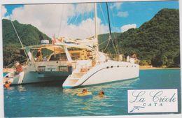 Martinique : Bateau  La  Créole  Cata , Pointe Du  Bout  , Pop's Car  Location - Martinique