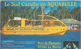 Martinique : Sud  Caraïbe En Bateau  Aquabulle , Le  Marin Port De  Plaisance   , Pop's Car  Location - Martinique