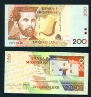 ALBANIA - 2012  200 Lek  UNC - Albania