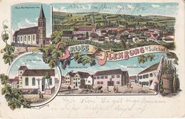 Gruss Aus Flexbourg B. Sulzbad - Francia