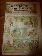 1917 L'aventure D'une Poupée; Bécassine Au Ministère De L'Utilisation Des Aptitudes ;etc  LSDS - La Semaine De Suzette