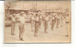 Photo Ou Carte Photo à Identifier : Marins Faisant De La Gymnastique - Cartes Postales