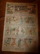 1917 Le Prix D'exactitude; Bécassine Dans La Chambre Mysterieuse;Les Fleurs Disent;Manuel Des Petits Français; Etc  LSDS - La Semaine De Suzette