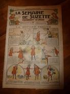 1917 La Bottine Perdue; Les 3 Volontés De La Petite Princesse; Le Bon Jardinier; Etc  LSDS - La Semaine De Suzette