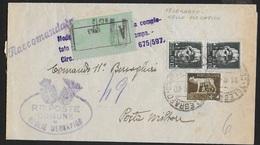 STORIA POSTALE REGNO - MODULO RACCOMANDATO DA CEGLIE MESSAPICO PER PM 18 (SPILIMBERGO) 11.08.1940 - Correo Militar (PM)