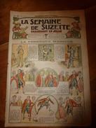 1917 La Perruque Magique; Bécassine Visite Le Camp De Soldats; Faire Un Abat-jour Patriotique ; Etc  LSDS - La Semaine De Suzette