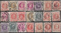 _6R-442:  Restje Van 21 Zegels .. Diverse: O.a.  Wat Stempels.... ..om Verder Uit Te Zoeken.. - 1922-1927 Houyoux