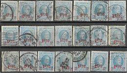 _6R-440:  Restje Van 21 Zegels .. N°248... ..om Verder Uit Te Zoeken.. - 1922-1927 Houyoux