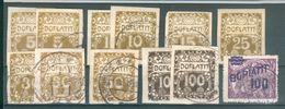 TCHECOSLOVAQUIE ; Taxes ; 1919-1926 ; Lot N° 51 ; Oblitéré/neuf - Czechoslovakia