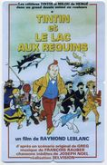 Puzzle TINTIN  ET LE LAC AUX REQUINS  BD Film Movie - 4 Télécartes Canada Phonecard - Canada