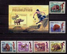Cuba 2008 / Prehistoric Animals MNH Animales Prehistoricos Prähistorischen Tieren / Cu5910  C1 - Prehistóricos