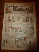 1917 Le Ruban Accusateur; Pour S'amuser Les Jours De Pluie Avec L'EIDOSCOPE; Etc; Etc (LSDS) - La Semaine De Suzette